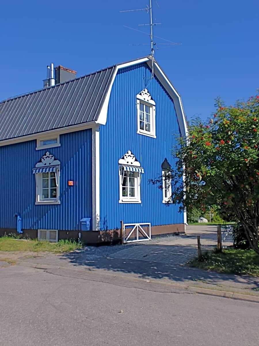 Houten huis verven moose f rg zweedse houtverf zeer kosteneffectief - Houten huis ...
