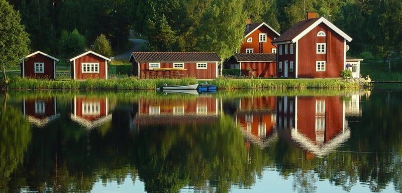 Moose Farg matte Zweedse houtverf
