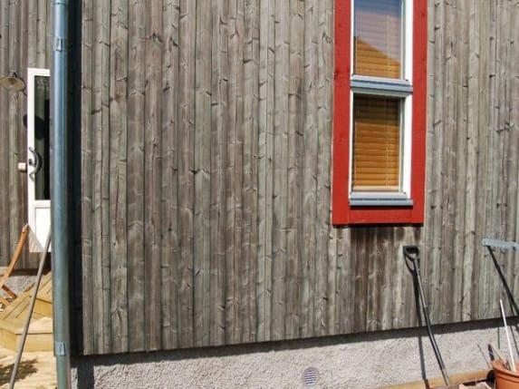 Tuinhuis tuinhuis hout behandelen : Hout vergrijzen: Moose Gru00e5ning laat uw hout natuurlijk vergrijzen