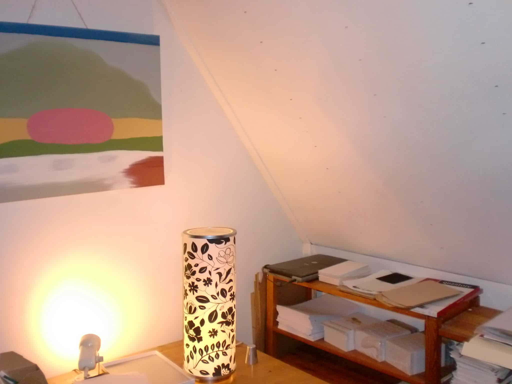 Muurverf moose f rg heeft een matte lichtuitstraling en geeft sfeer - Kamer schilderij ...