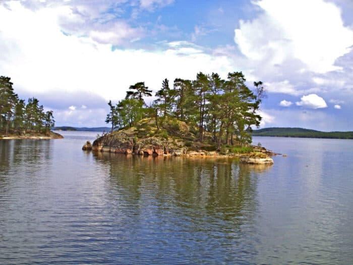 Het eiland torpon matte houtverf uit zweden moose f rg - Grijze verf leisteen ...