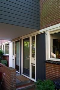 Loodgrijs RDM betimmering en deur Thijmen Schrauwens Alkmaar