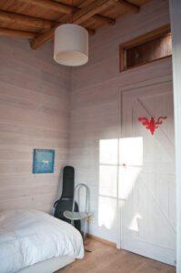 Kinderkamer met whitewash verf Norbert van der Ley