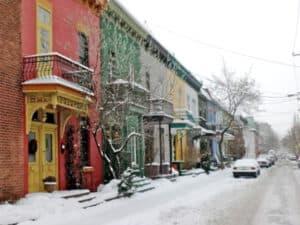 Kleuren in Montreal Canada