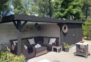 white-wash-verf-binnen diepzwart tuinhuis