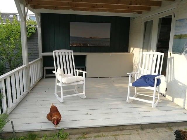 houten veranda verven