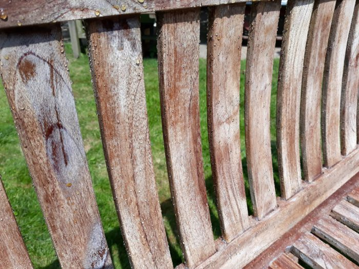houtkleur behouden