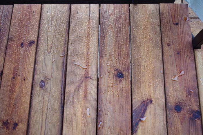 steigerhout waterafstotend maken