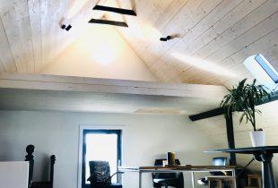White wash plafond verven
