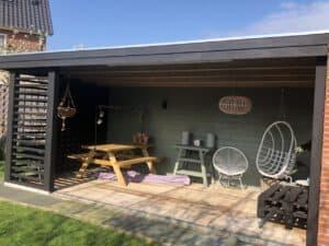 tuinkamer verven