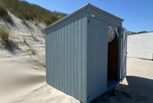 strandhuisje zeeland ljus bla
