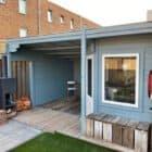 Tuinhuis ljus bla lichtblauw nijmegen