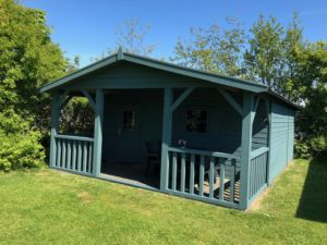 Watersnip bohus bla camping hut