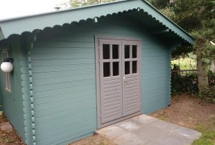 tuinhuis verven kleuren