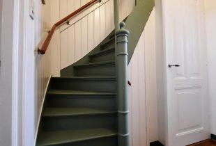 Trap verven trap lakken