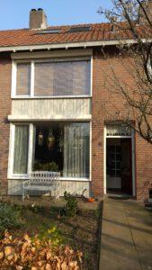 Betimmering huis verven