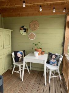 Binnenkanrt veranda verven