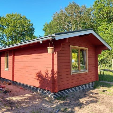 Zweeds rood blokhut