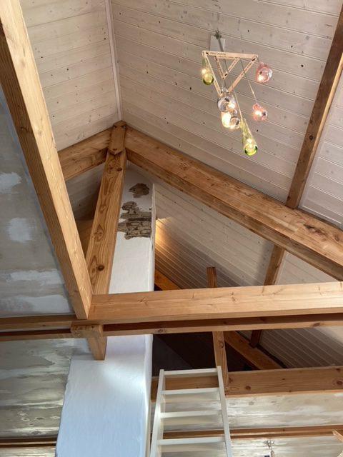 plafond white wash