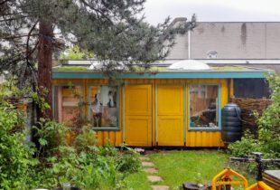 Tuinhuis geel